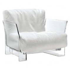 Kartell Pop Trevira fabric seating