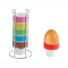 Present Time Luscious Colours Egg Cups Set