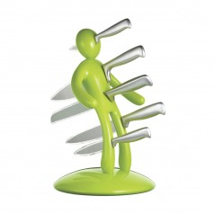Voodoo Knife Block Set (Green)
