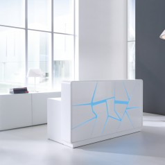 MDD Arctic Summer reception desk