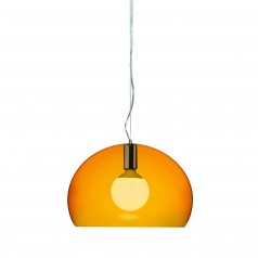Kartell Small FL/Y Transparent Ceiling Light