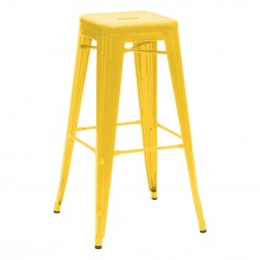 Tolix H 70 High Stool Lacquered Steel