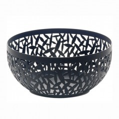 Alessi CACTUS! Fruit Bowl Small Black (21cm)