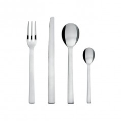 Alessi Santiago Cutlery Set (24 Pieces - 18/10 Stainless Steel)