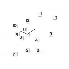 Progetti RND_Time Wall Clock - Small Cubes in Nylon