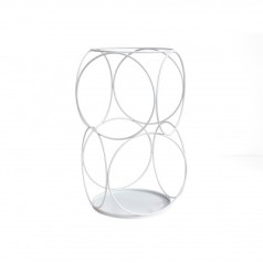 Progetti Decor Umbrella Stand - 10 Interlocking Circles