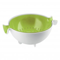 Guzzini Spin and Drain Colander and Bowl Set