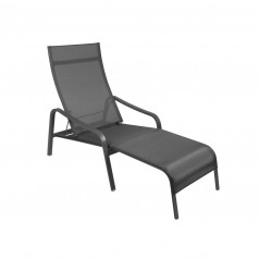 Fermob Alizé Deckchair - Adjustable Backrest  & Removable Footrest