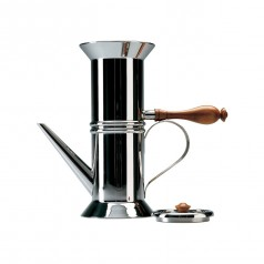Officina Alessi Neapolitan Coffee Maker (Silver)