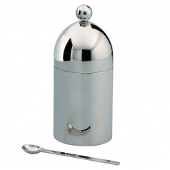 Officina Alessi Aldo Rossi Sugar Bowl (18/10 Stainless Steel)