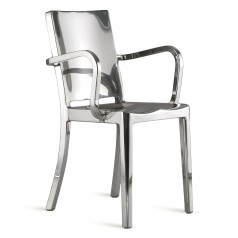 Emeco Hudson Armchair (Polished) - By Philippe Starck