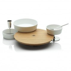 Alessi Ape Aperitif Board & Bowl Set