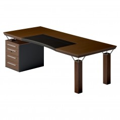 Mascagni Quadra Desk with Drawers