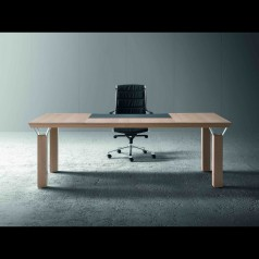Mascagni Quadra Executive Desk (Rectangular / Wooden)