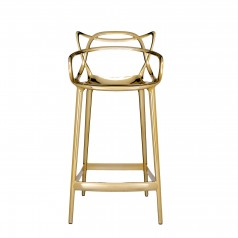 Kartell Masters Stool (65cm) - Special Metallic Version