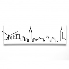 Progetti New York Skyline Wall Clock