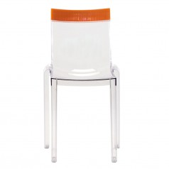 Kartell Hi-Cut dining stacking chair