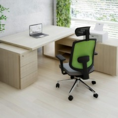 MDD MITO Executive Desk With Pedestal End
