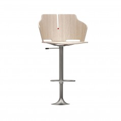 Luxy Prima Floor Fixed Bar Stool (Height Adjustable)
