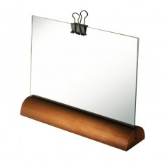 Alessi Landscape Photo Frame in Pear Wood