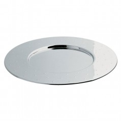 Alessi MG03 Placemat by Michael Graves - Mirror Polished Steel