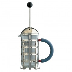 Alessi 3-Cup Press Filter Coffee Maker or Infuser (MGPF 3)