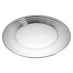Alessi Le Cerchie Tray/Centrepiece - 18/10 Stainless Steel Mirror Polished (MDL03)