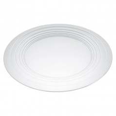 Alessi Le Cerchie Tray/Centrepiece - White Epoxy Resin (MDL03 W)