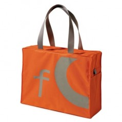 "Alessi ""City Bag"" - Orange Shopping Bag"