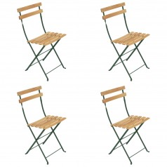 Fermob Bistro Folding Chair NATUREL (Set of 4)