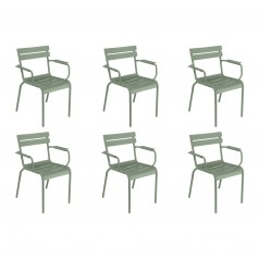 Fermob Luxembourg Dining Armchairs (Set of 6)