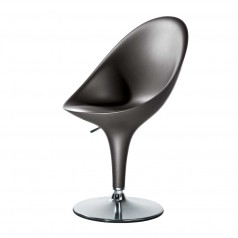 Magis Bombo Height Adjustable Swivel Chair - Grey Anthracite