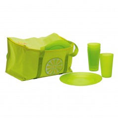 Present Time Cooler Bag & Picnic Set