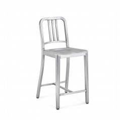 Emeco 1006 Navy Counter Stool
