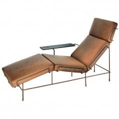 Magis Traffic Chaise Longue (Leather Upholstery)