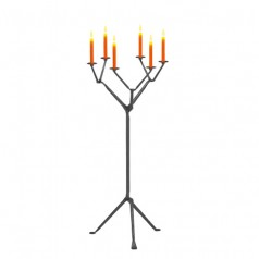Magis Officina Floor Candle Holder (6 Arms)