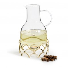 Sagaform Gold Mulled Wine Carafe With Heater