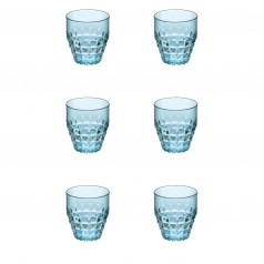 Guzzini Tiffany Low Plastic Tumblers (Set of 6)