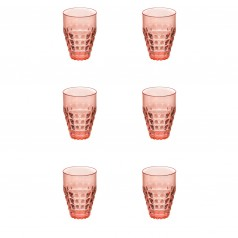 Guzzini Tiffany Tall Plastic Tumblers (Set of 6)