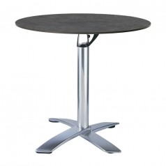 Avangard stacking flip top folding table