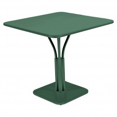 Fermob Luxembourg Square Table (71cm) With Solid Top
