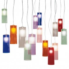 Kartell Easy lamp suspension transparent