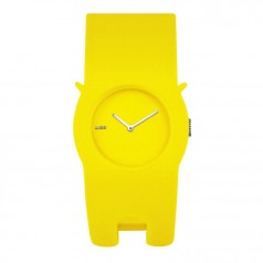Alessi Neko Clasp Watch, Yellow AL24003