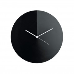 Alessi Arris Wall Clock (Black)