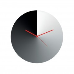 Alessi Arris Wall Clock (Stainless Steel)