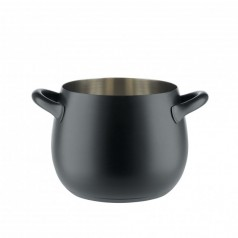 Alessi MAMI Black Stockpot