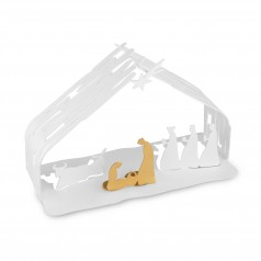 Alessi BARK Crib Nativity Ornament