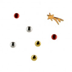Alessi BARK Christmas Themed Magnet Set