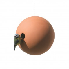 Green&Blue Suspended Birdball Ceramic Birdhouse