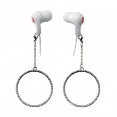 e-my HOOPY Ear Jewellery Earphones